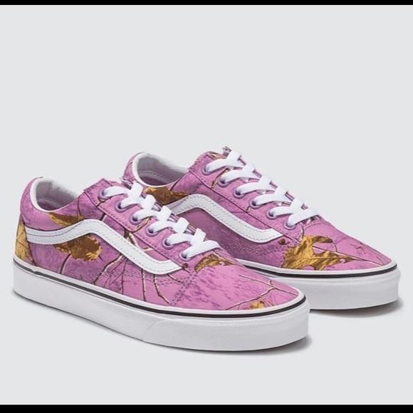 Vans Other - Vans Realtree Camo Old Skool Shoes Sneakers Mens